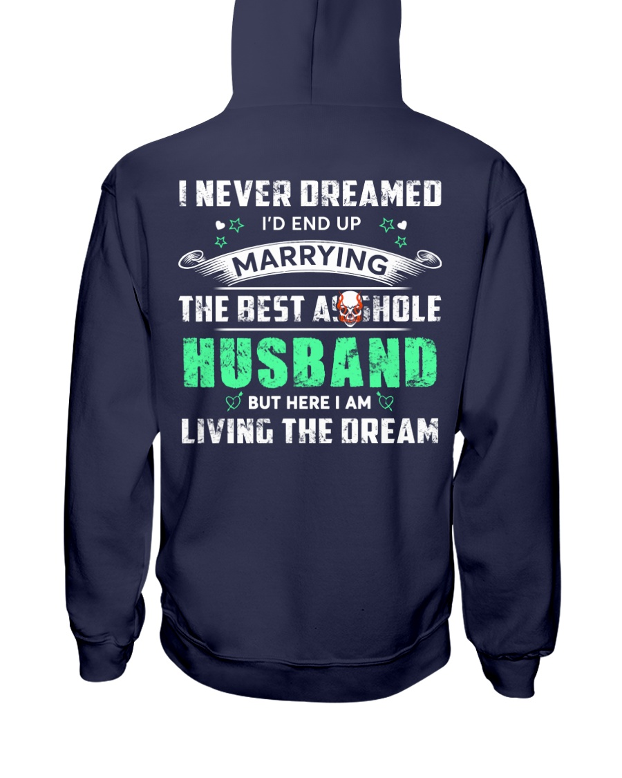 Best Husband Tee Hooded Sweatshirt