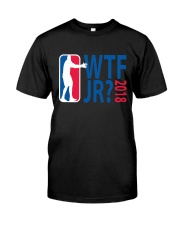 BASKETBALL WTF JR Classic T-Shirt front