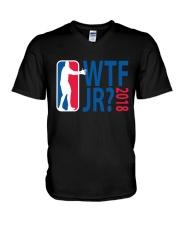 BASKETBALL WTF JR V-Neck T-Shirt thumbnail