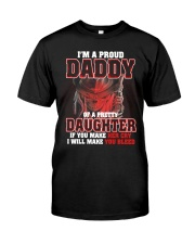 I'M PROUD DADDY OF PRETTY DAUGHTER Classic T-Shirt tile