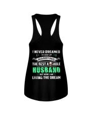 Best Husband Tee Ladies Flowy Tank tile