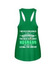 Best Husband Tee Ladies Flowy Tank back