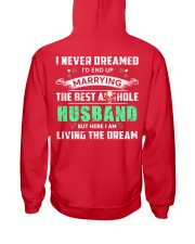 Best Husband Tee Hooded Sweatshirt back
