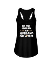 I'm Not Spoiled My Husband Just Loves Me Ladies Flowy Tank thumbnail