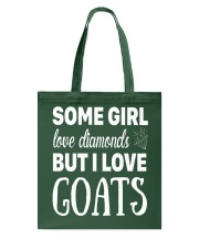 FUNNY TSHIRT FOR FARMERS WHO LOVE GOAT Tote Bag tile