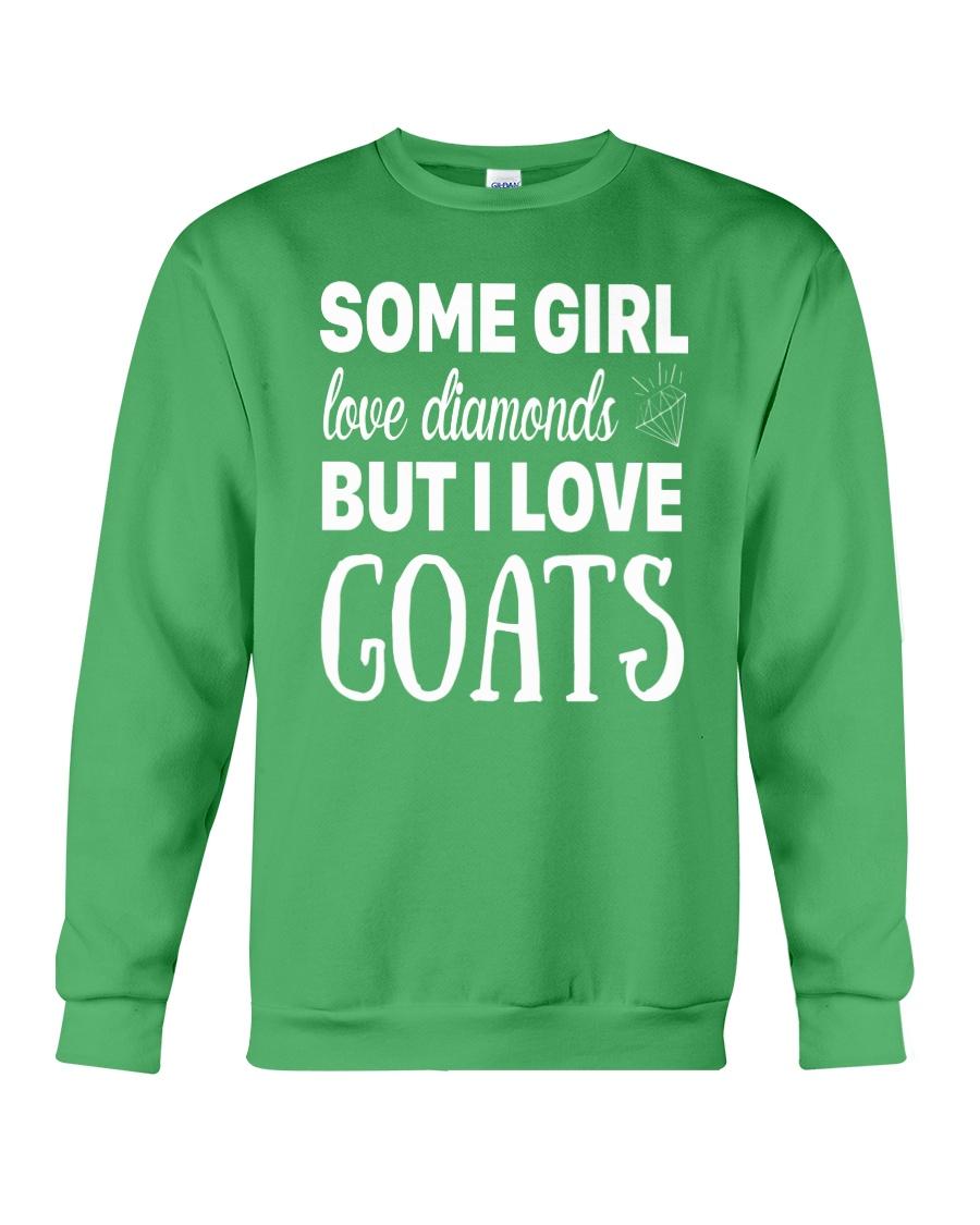 FUNNY TSHIRT FOR FARMERS WHO LOVE GOAT Crewneck Sweatshirt