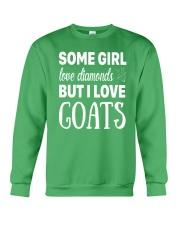 FUNNY TSHIRT FOR FARMERS WHO LOVE GOAT Crewneck Sweatshirt front
