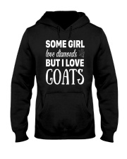 FUNNY TSHIRT FOR FARMERS WHO LOVE GOAT Hooded Sweatshirt thumbnail