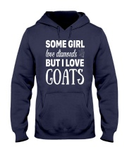 FUNNY TSHIRT FOR FARMERS WHO LOVE GOAT Hooded Sweatshirt front