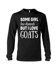 FUNNY TSHIRT FOR FARMERS WHO LOVE GOAT Long Sleeve Tee thumbnail