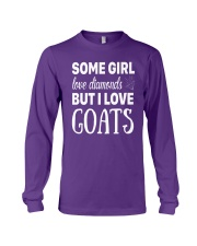 FUNNY TSHIRT FOR FARMERS WHO LOVE GOAT Long Sleeve Tee front