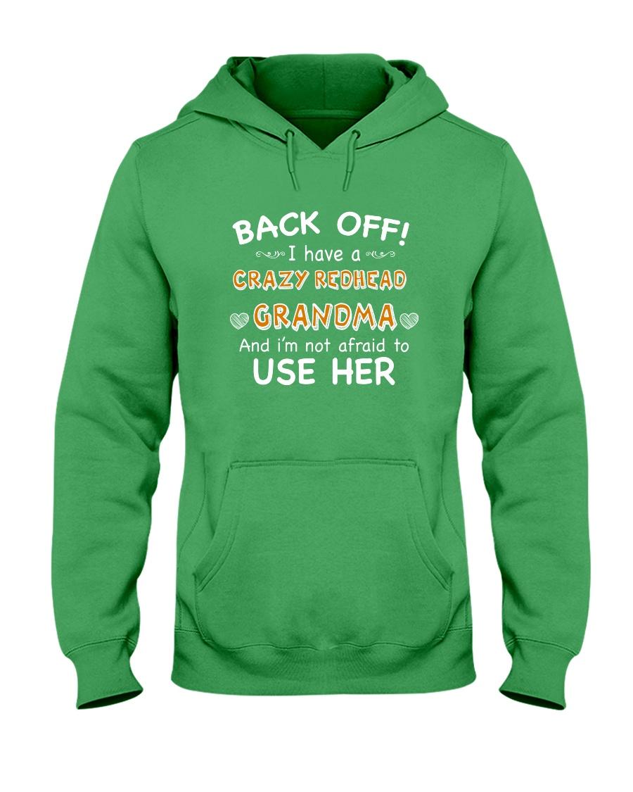 CRAZY REDHEAD GRANDMA T-SHIRT TANK TOP HOODIE HAT Hooded Sweatshirt