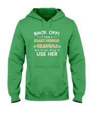 CRAZY REDHEAD GRANDMA T-SHIRT TANK TOP HOODIE HAT Hooded Sweatshirt front