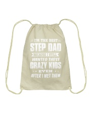 I'm The Best Step Dad Drawstring Bag thumbnail