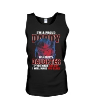 I'M PROUD DADDY OF PRETTY DAUGHTER Unisex Tank thumbnail