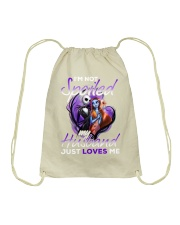 Im Not Spoiled My Husband Just Loves Me Drawstring Bag thumbnail