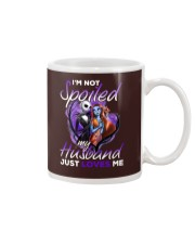 Im Not Spoiled My Husband Just Loves Me Mug front