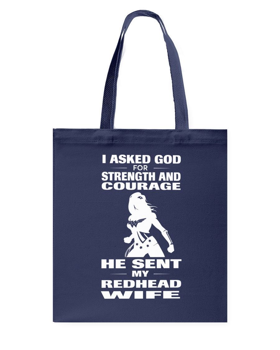 REDHEAD WIFE T-SHIRT HOODIE V-NECK Tote Bag