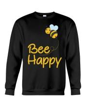 Bee Happy Bumble Bee Bee Lover Bumble Bee Gift Fun Crewneck Sweatshirt thumbnail