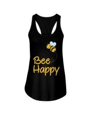 Bee Happy Bumble Bee Bee Lover Bumble Bee Gift Fun Ladies Flowy Tank thumbnail