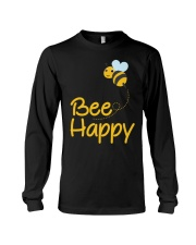 Bee Happy Bumble Bee Bee Lover Bumble Bee Gift Fun Long Sleeve Tee thumbnail