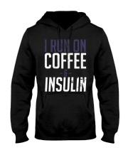 I Run On Coffee And Insulin Diabetes Tee shirts Hooded Sweatshirt thumbnail