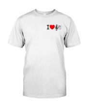 I LOVE MUSIC  Classic T-Shirt front