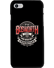 It's a BOSWORTH thing Shirt Phone Case thumbnail