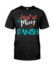 DANISH - JOYFUL AND MERRY Classic T-Shirt thumbnail