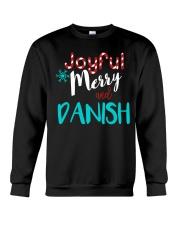 DANISH - JOYFUL AND MERRY Crewneck Sweatshirt thumbnail