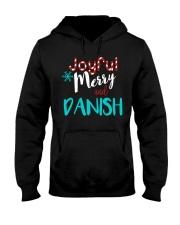 DANISH - JOYFUL AND MERRY Hooded Sweatshirt thumbnail