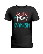 DANISH - JOYFUL AND MERRY Ladies T-Shirt thumbnail
