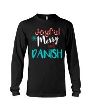 DANISH - JOYFUL AND MERRY Long Sleeve Tee front