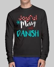 DANISH - JOYFUL AND MERRY Long Sleeve Tee lifestyle-unisex-longsleeve-front-1