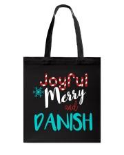 DANISH - JOYFUL AND MERRY Tote Bag thumbnail