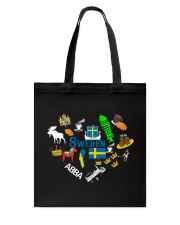 LOVE SWEDEN  Tote Bag thumbnail