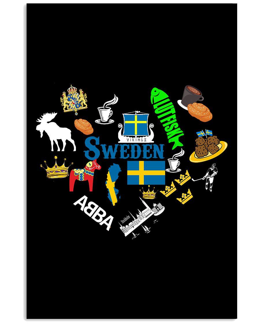 LOVE SWEDEN  11x17 Poster