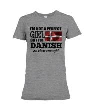 DANISH GIRL  Premium Fit Ladies Tee thumbnail