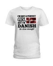 DANISH GIRL  Ladies T-Shirt front