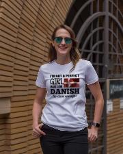 DANISH GIRL  Ladies T-Shirt lifestyle-women-crewneck-front-2