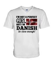 DANISH GIRL  V-Neck T-Shirt thumbnail