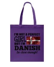 DANISH GIRL  Tote Bag thumbnail