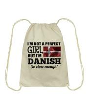 DANISH GIRL  Drawstring Bag thumbnail