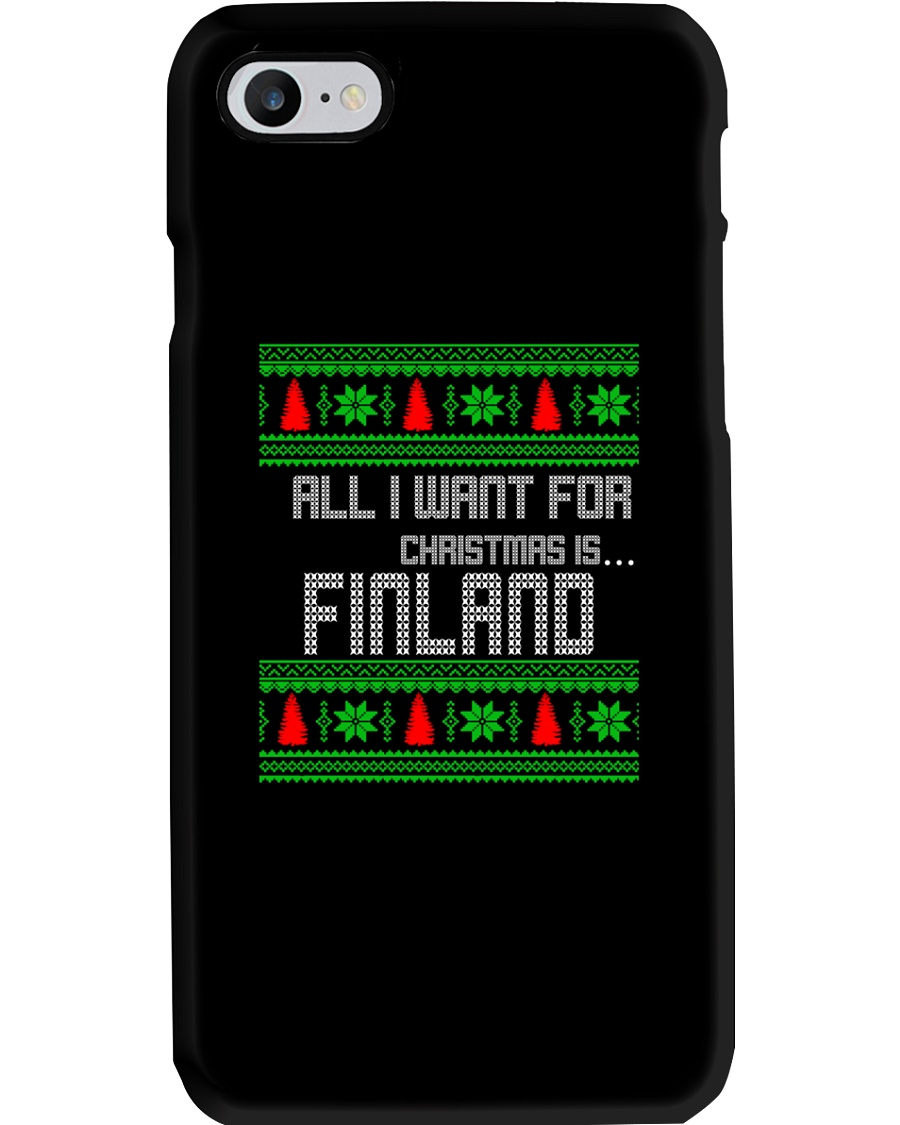 FINLAND CHRISTMAS Phone Case