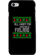 FINLAND CHRISTMAS Phone Case thumbnail