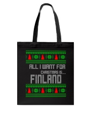 FINLAND CHRISTMAS Tote Bag thumbnail