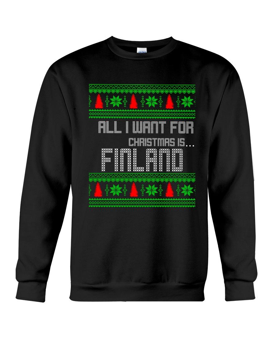 FINLAND CHRISTMAS Crewneck Sweatshirt