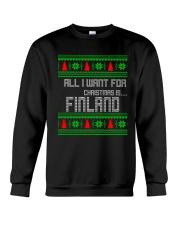 FINLAND CHRISTMAS Crewneck Sweatshirt front