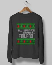 FINLAND CHRISTMAS Crewneck Sweatshirt lifestyle-unisex-sweatshirt-front-10
