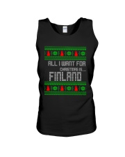 FINLAND CHRISTMAS Unisex Tank thumbnail